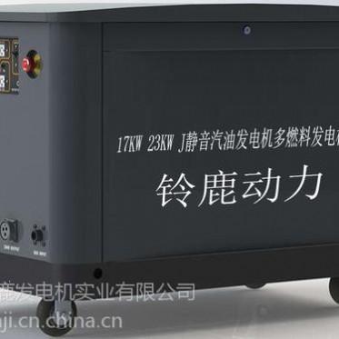 移动式15kw汽油发电机组
