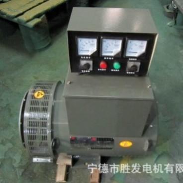 福建电机 福安胜发STC-40  40KW三相交流同步发电机  骑马箱制作